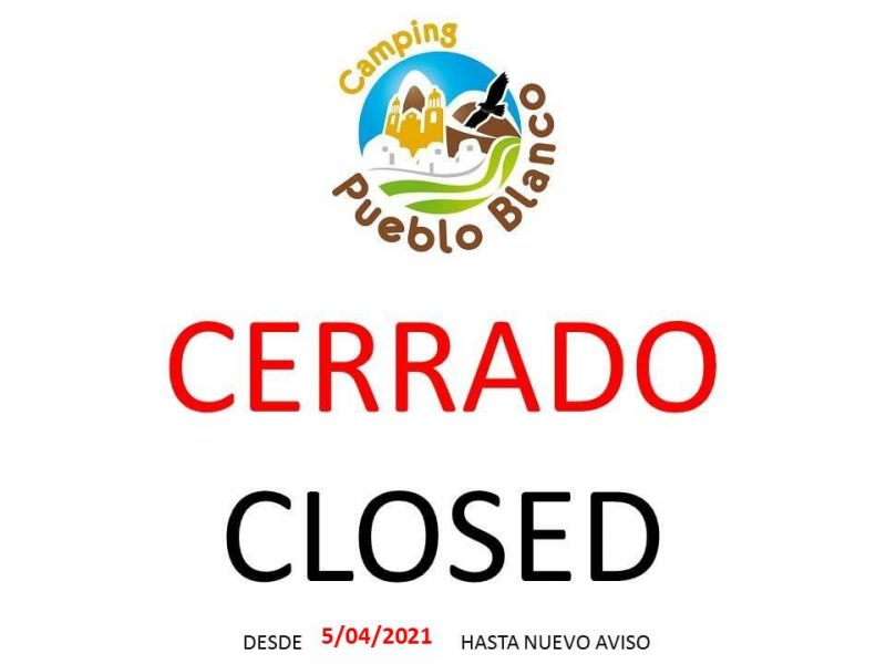 CERRRADO  DESDE 5/04/2021 HASTA NUEVO AVISO